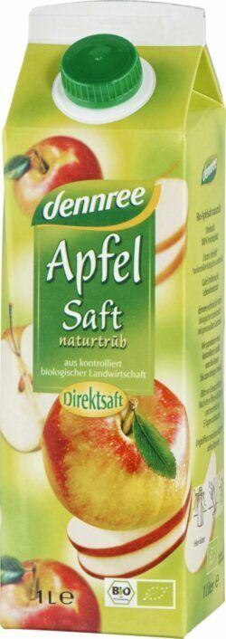 dennree Apfelsaft naturtrüb 6x1l