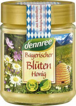dennree Bayerischer Blütenhonig, fein-cremig 10x500g