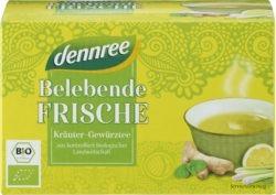 dennree Belebende Frische Kräuter-Gewürztee 5x40g