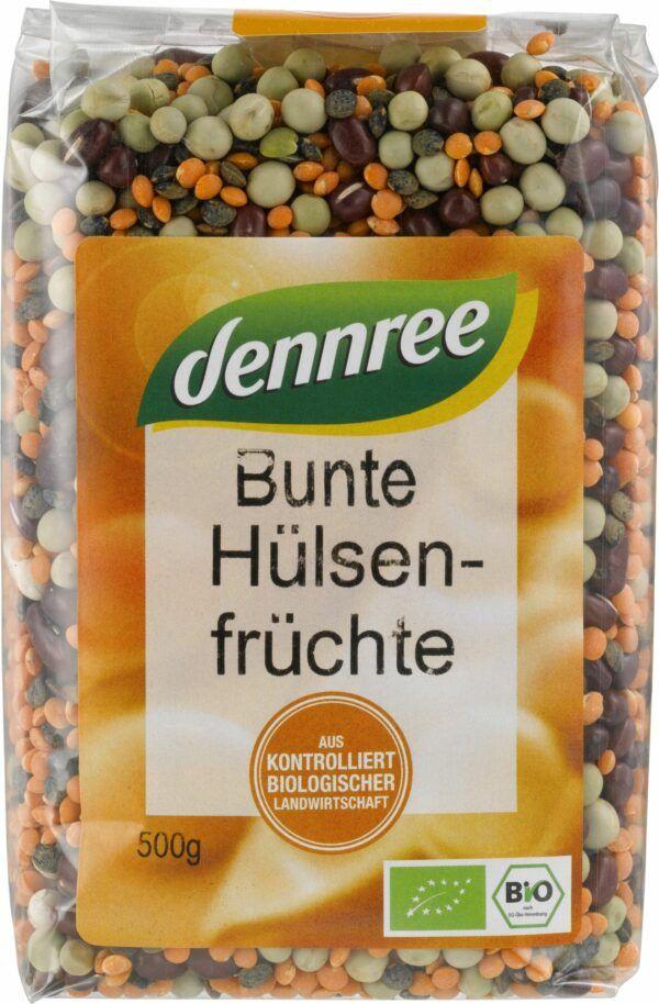 dennree Bunte Hülsenfrüchte 10x500g