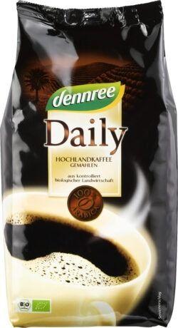 dennree Daily Hochlandkaffee gemahlen 500g