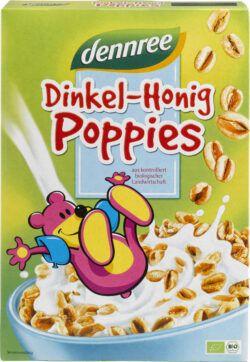 dennree Dinkel-Honig-Poppies 375g