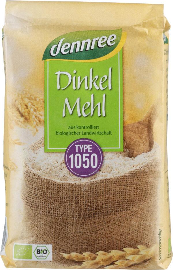 dennree Dinkelmehl Type 1050 1kg