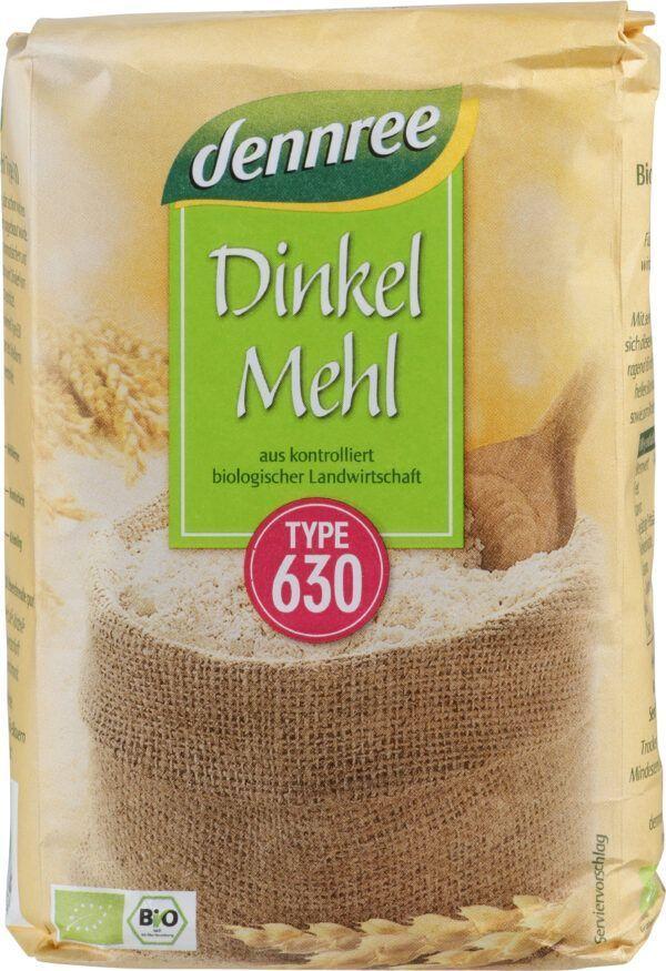 dennree Dinkelmehl Type 630 10x1kg