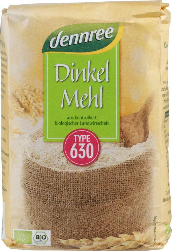 dennree Dinkelmehl Type 630 1kg