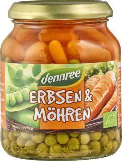 dennree Erbsen & Möhren 6x350g