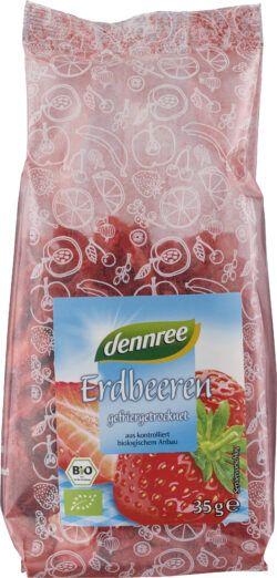 dennree Erdbeeren gefriergetrocknet 6x35g