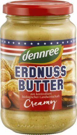 dennree Erdnussbutter Creamy 6x350g
