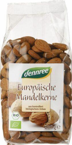 dennree Europäische Mandelkerne 8x250g