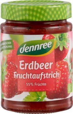 dennree Fruchtaufstrich Erdbeere 6x340g