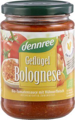 dennree Geflügelbolognese 6x350g