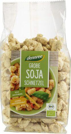 dennree Grobe Soja-Schnetzel 6x150g