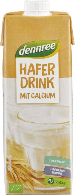dennree Haferdrink mit Calcium 10x1l