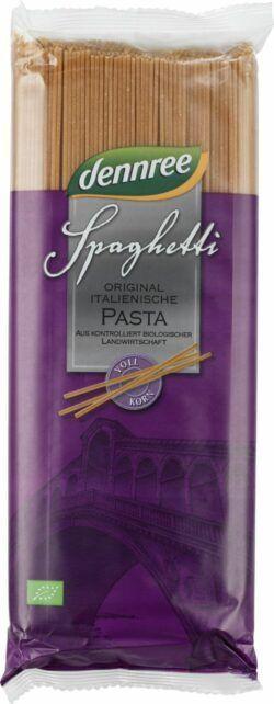 dennree Hartweizen-Vollkorn-Spaghetti 12x1kg
