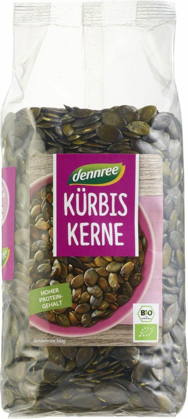 dennree Kürbiskerne 8x500g