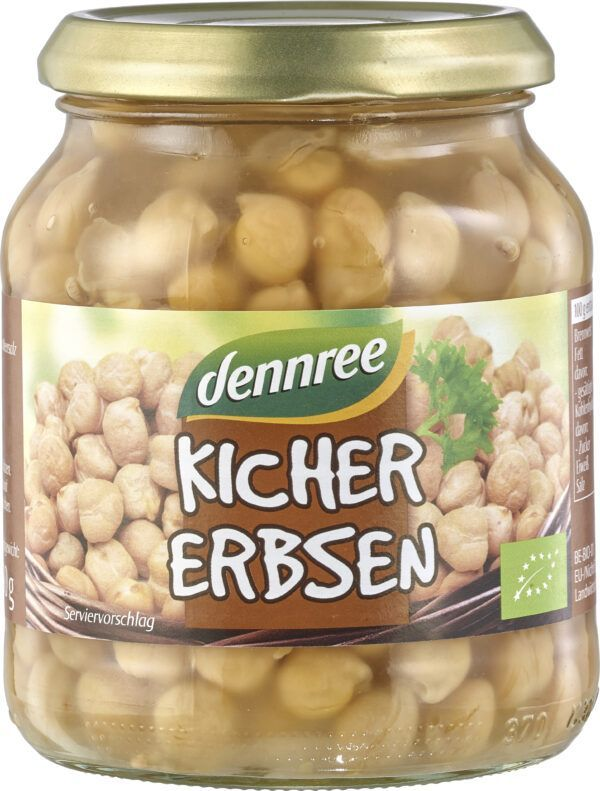 dennree Kichererbsen 6 x 350g