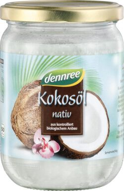 dennree Kokosöl nativ 450ml