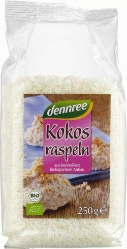 dennree Kokosraspel 6x250g