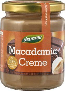dennree Macadamia-Creme mit 30% Macadamianüssen 6x250g