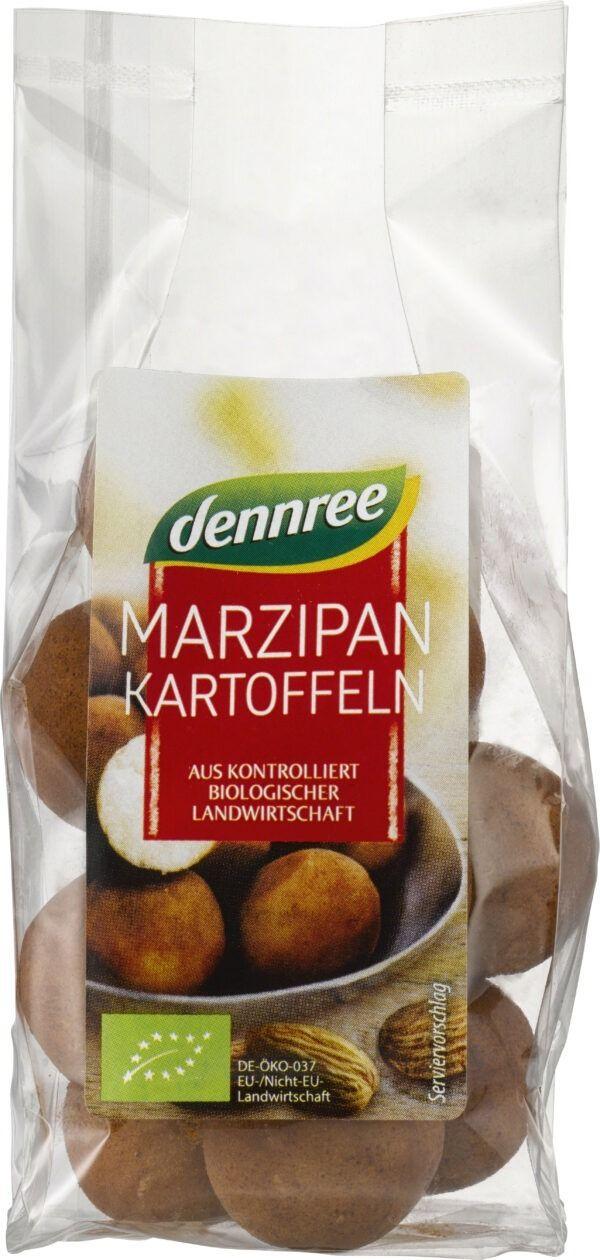 dennree Marzipankartoffeln 8x100g