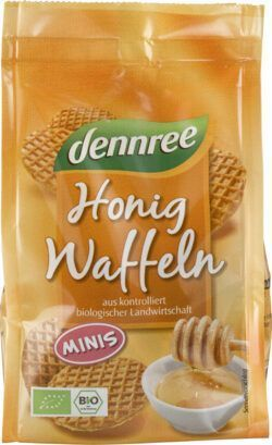 dennree Mini-Honigwaffeln 12x150g