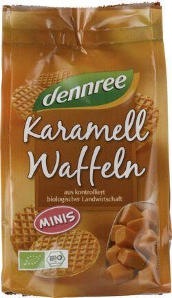 dennree Mini-Karamellwaffeln 12x150g