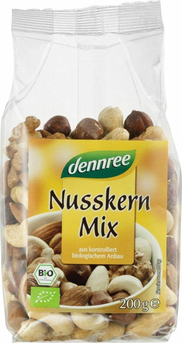 dennree Nusskern-Mix 8x200g