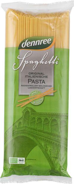 dennree Original italienische Hartweizen-Spaghetti 12x1kg