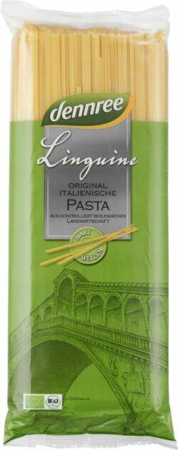 dennree Original italienische Hartweizen-Linguine 12x1kg