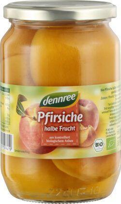 dennree Pfirsiche, halbe Frucht 6x680g