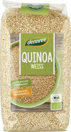 dennree Quinoa weiß 10x500g