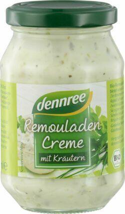 dennree Remouladencreme mit Kräutern 6x250ml