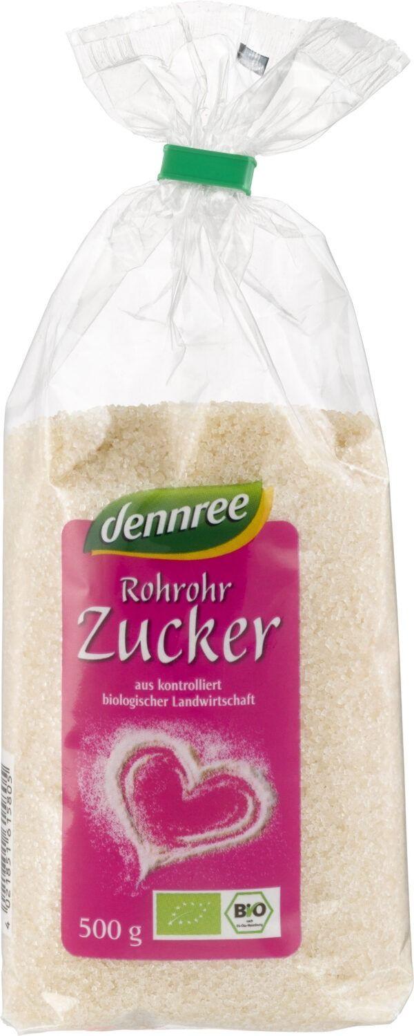 dennree Rohrohrzucker 7x500g