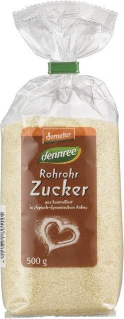 dennree Rohrohrzucker, demeter 6x500g