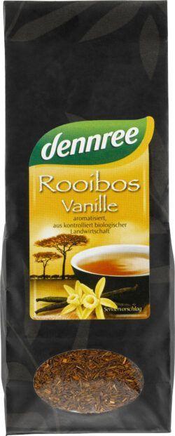 dennree Rooibostee Vanille aromatisiert, lose 10x100g