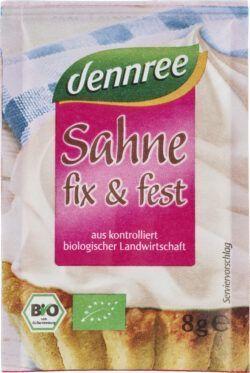 dennree Sahne fix & fest 21x32g