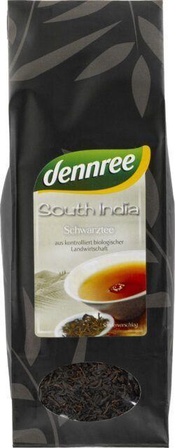 dennree South India Schwarztee, lose 10x100g