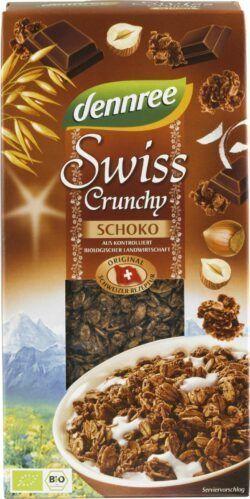 dennree Swiss Crunchy Schoko 6x375g