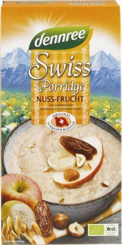 dennree Swiss Porridge Nuss-Frucht 6x400g