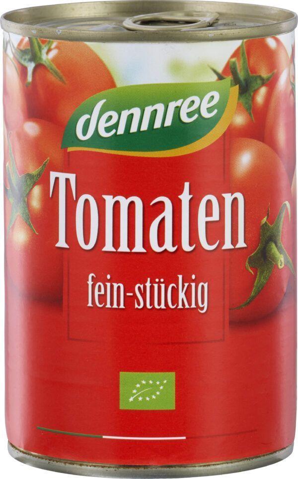 dennree Tomaten fein-stückig 400g