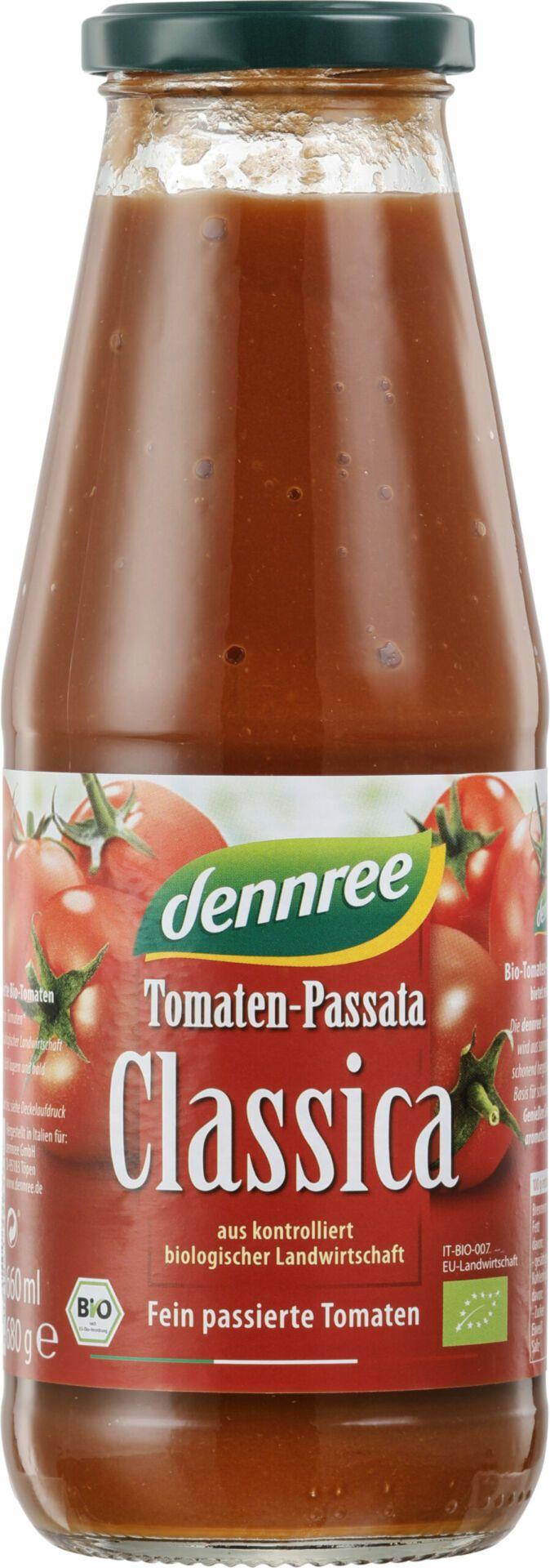 dennree Tomaten-Passata Classica 12x680g