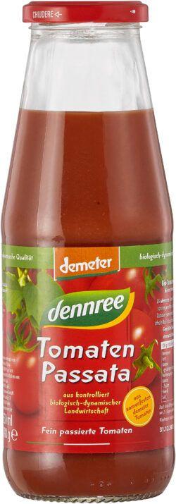 dennree Tomaten-Passata, aus samenfesten demeter Tomaten 6x690g