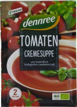 dennree Tomatencremesuppe 15x40g