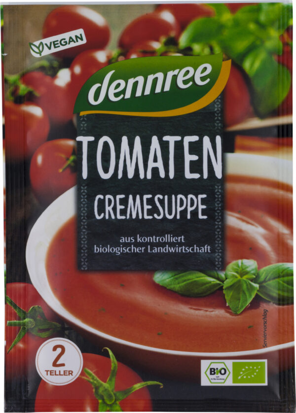 dennree Tomatencremesuppe 40g