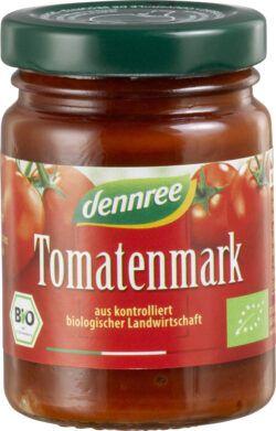 dennree Tomatenmark einfach konzentriert 12x100g