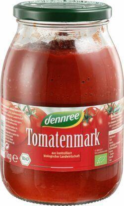 dennree Tomatenmark einfach konzentriert 6x1kg