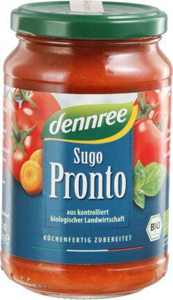 dennree Tomatensauce Sugo Pronto 6x340g