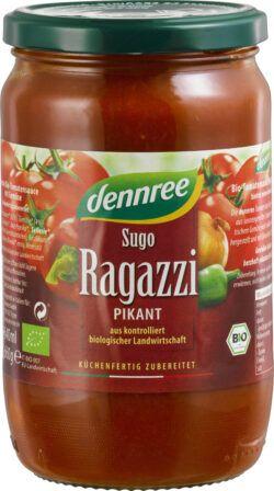 dennree Tomatensauce Sugo Ragazzi 6x660g