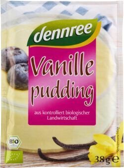 dennree Vanillepudding 5x114g