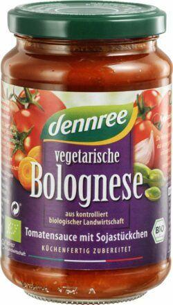 dennree Vegetarische Bolognese 6x350g
